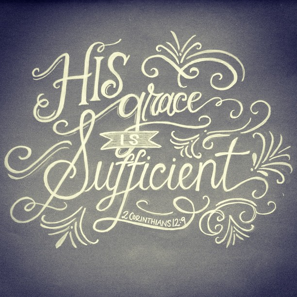 THE SUFFICIENT GRACE OF GOD
